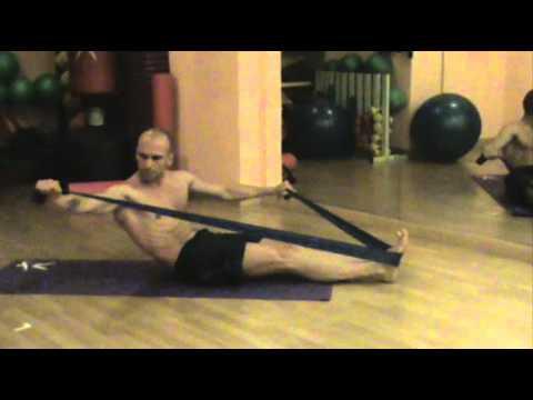 Pilates banda elastica
