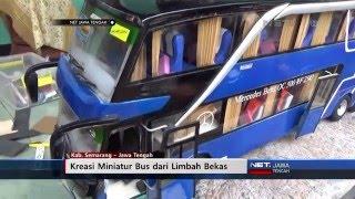 NET JATENG - KREASI MINIATUR BUS