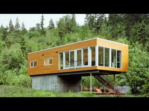 İlginç Prefabrik Evler ve Dekorasyonları