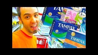 TAMPONS ARE AWESOME | Day 1916