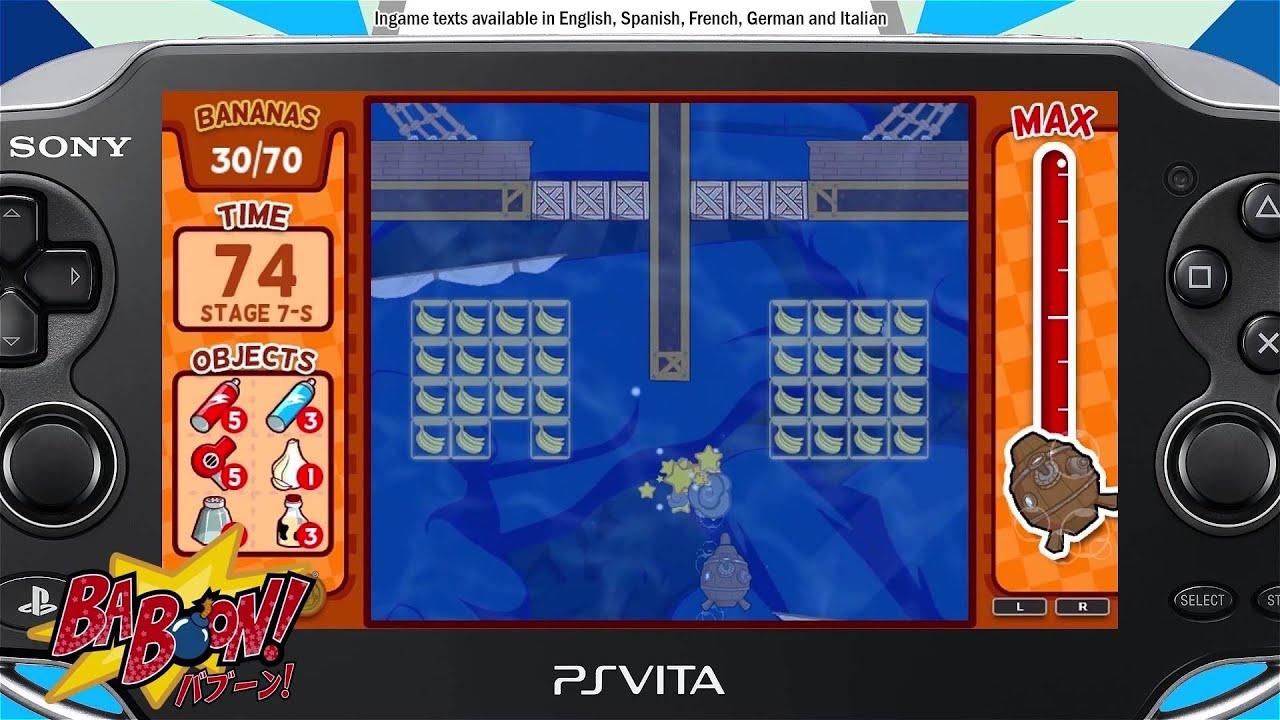 Baboon! el primer videojuego vasco para PlayStation, llega a PlayStation Vita
