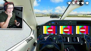 I LANDED AT AREA 51 - Microsoft Flight Simulator - Part 5