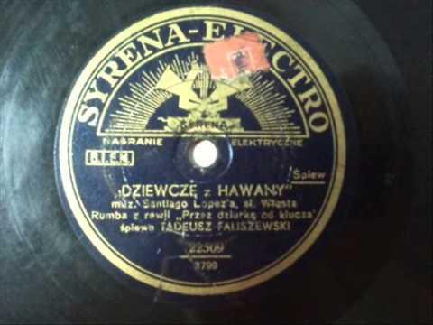 Tadeusz Faliszewski - Dziewczę z Hawany