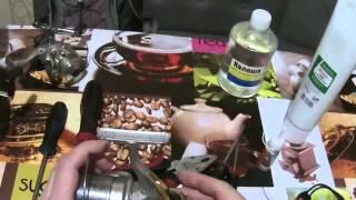 Как разобрать катушку с задним фрикционом шимано