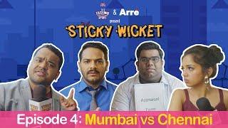 Sticky Wicket EP 4 | Appraisal Ka Din   MI Vs CSK Ft. Ahsaas, Kumar Varun & Shantanu Anam