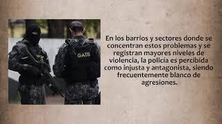 La policía en democracia – Ediciones Radio Universidad de Chile