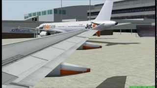 X-Plane 11] FFA320 | Hobart (YMHB) ✈Melbourne (YMML