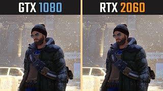 RTX 2060 vs. GTX 1080 (Test in 8 Games)