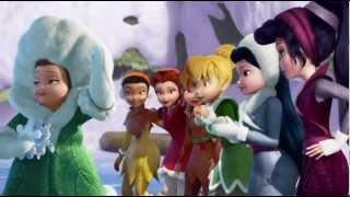 Disney Fairies - How To Ice Skate
