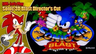 Let's play Sonic 3D Blast Director's Cut - LIVE - Saturday 6th October 2018 7pm BST