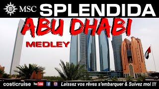 MSC SPLENDIDA ... ABU DHABI ...