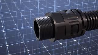 Montage FLEXAquick-Verschraubungssystem