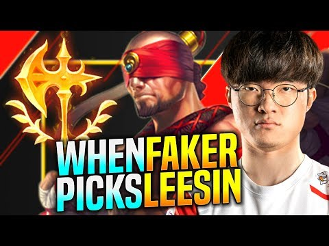 Faker is Ready to Play Lee Sin! - SKT T1 Faker Plays Lee sin vs Elise Jungle | KR SoloQ Patch 9.24