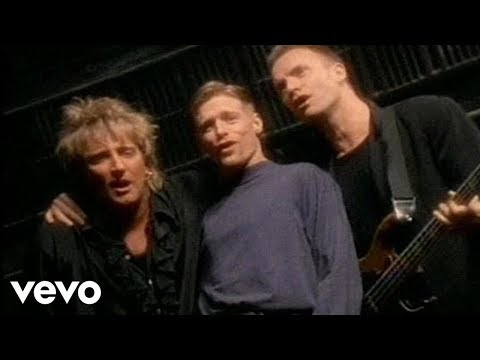 Bryan Adams, Rod Stewart, Sting - All For Love (Official Music Video)