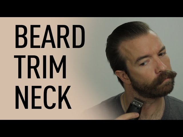Beard Trimming Tools