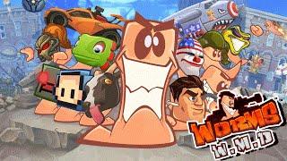 Worms WMD - Finalmente um Worms tão BOM quanto Worms Armageddon? | Gameplay do Início
