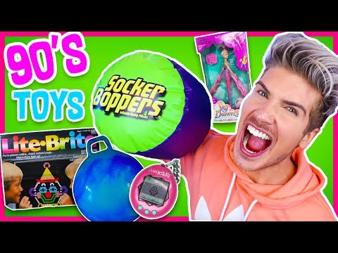 Playing With 90's Kids Toys!