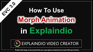 How to Use Morph Animation in Explaindio 3.0