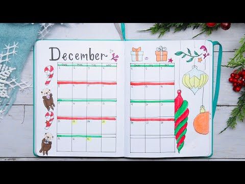Plan With Me: Fun And Festive December 2019 Holiday Bullet Journal