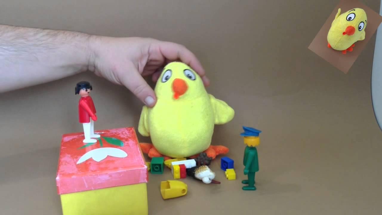 El pollo Pepe canta con los clicks: A guardar, a guardar...