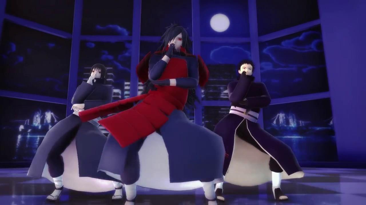 【MMD】うちは3人でGENTLEMAN+【NARUTO】