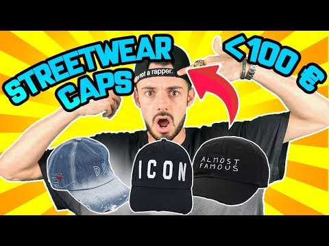 TOP *HYPEBEAST/STREETWEAR* CAPS SOTTO I 100€ (ESTATE 2018)