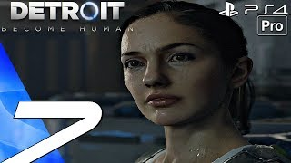 Detroit Become Human - Gameplay Walkthrough Part 7 - Russian Roulette & Spare Parts (PS4 PRO)