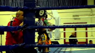 preview picture of video 'Gabriel Zoroddu VS Irene M - Muay Thai Giovanile - 22/11/2014 Nulvi (SS)'