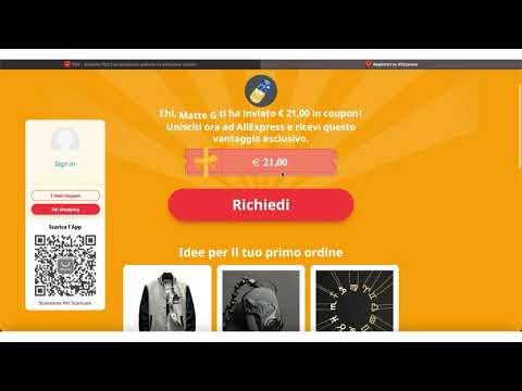 , title : '21€ di COUPON con AliExpress - Ecco come ottenerli subito'