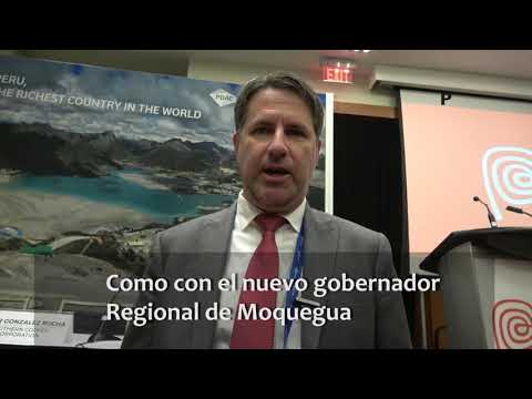 PDAC 2019: Entrevista a Tom Mc Culley, Jefe de proyectos de Anglo American