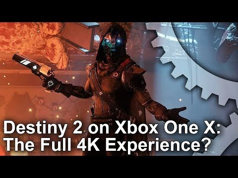 [4K] Destiny 2: Xbox One X vs PS4 Pro vs PC – Graphics Comparison + Frame-Rate Test