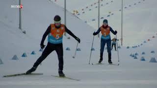 Дети Азии. Лыжные гонки 5 км (девушки)