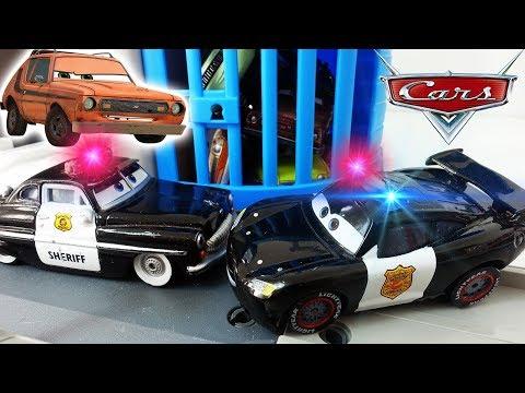 Полицейская Машинка Молния Маквин Тачки 3 - Мультики про машинки для детей