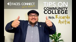 [FACES Connect] Tips on Community College, Part I
