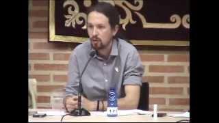 preview picture of video 'Presentación Podemos Albacete con Pablo Iglesias - 11 de Abril'