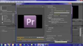 Adobe Premiere Pro CS5 Tutorial: Rendering and Exporting