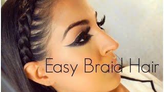 Easy Braid Hairstyle