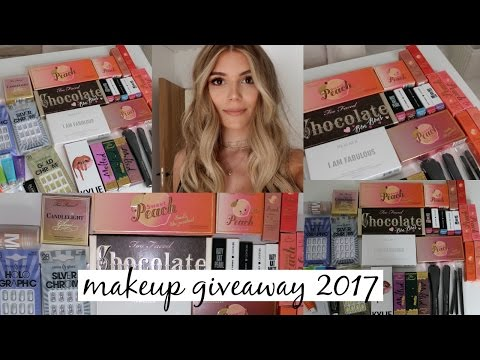 Makeup Giveaway for ALL Beauty Junkies l Olivia Jade