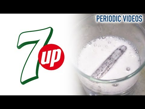 Lithium into 7 Up – Periodic Table of Videos