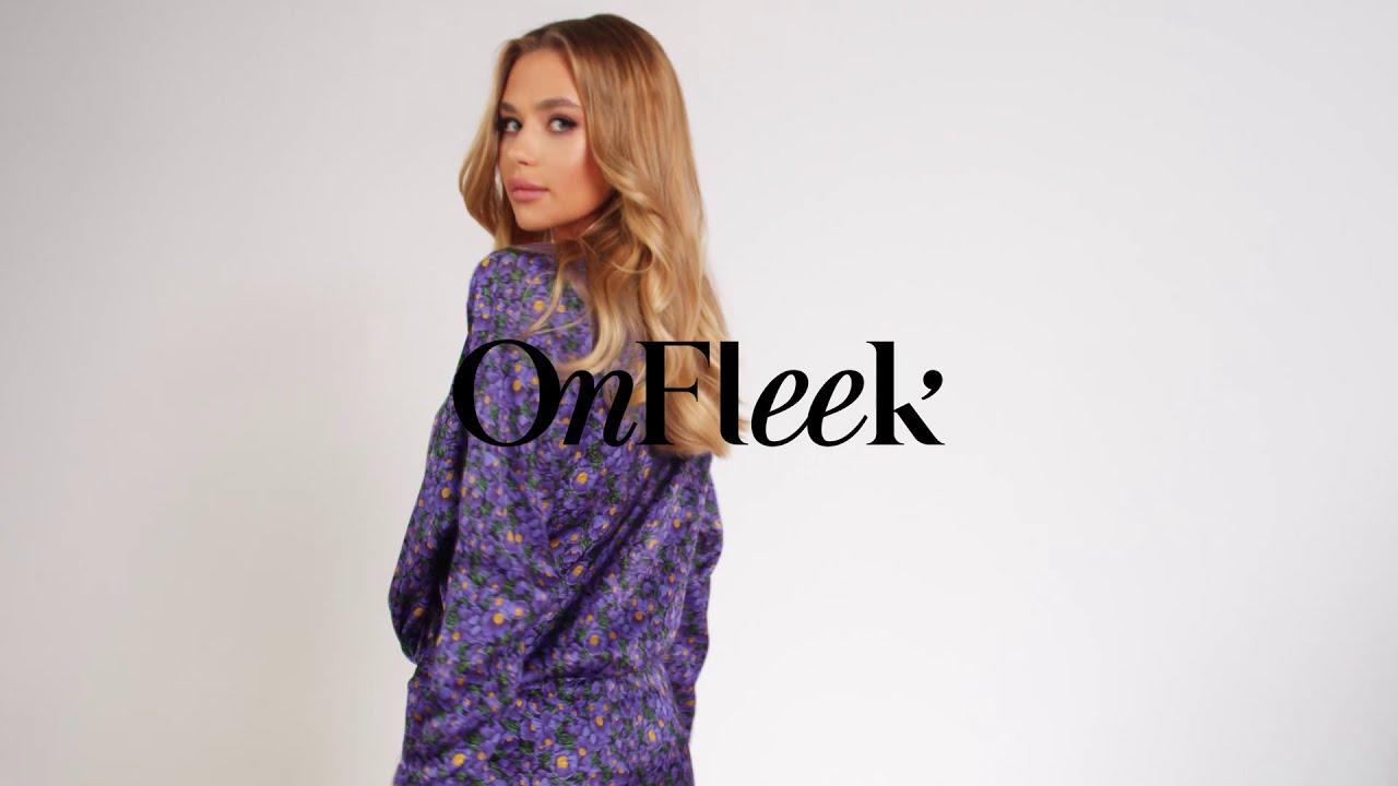PENELOPE violet dress
