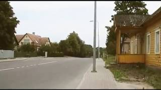Часть 9 Литва Аникщяй 2010 Поездка на велосипеде в Конный музей