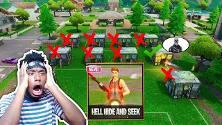 *NEW* SECRET HELL DOOR Hide and Seek GAMEMODE! CRAZIEST CUSTOM GAMEMODE EVER!