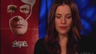 """Super"" Movie Cast Interview: Liv Tyler&Rainn Wilson"