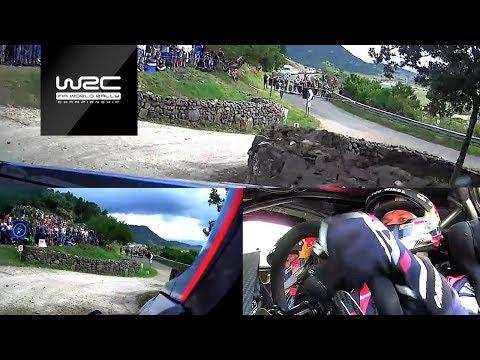 WRC - Rally Italia Sardegna 2018: ONBOARD Mikkelsen SS03