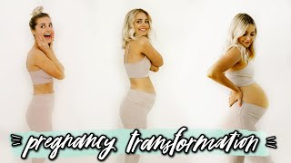 WEEKLY PREGNANCY TRANSFORMATION! | Aspyn Ovard