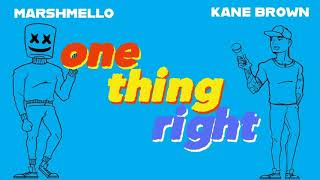 Marshmello X Kane Brown   One Thing Right (1 Hour)