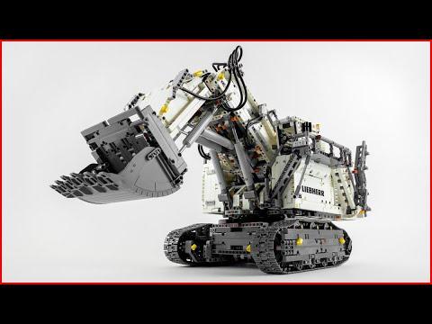 Vidéo LEGO Technic 42100 : La pelleteuse Liebherr R 9800