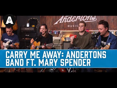 Carry Me Away (John Mayer Cover) | The Andertons Band ft. Mary Spender