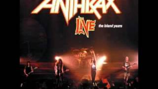 Anthrax-The Island Years Live Parasite