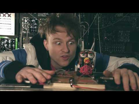 How to sync a circuit bent furby to a synth video #furby #circuitbending